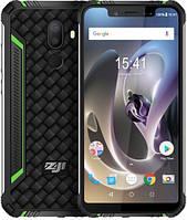 Смартфон защищенный, противоударный на 2 сим карты Homtom Zoji Z33 3/32GB Green (Global) Гарантия 12 мес
