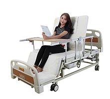 Медичне ліжко з туалетом E20 (електропривід) . Електро Ліжко. Функціональне ліжко. Для реабілітації інваліда.