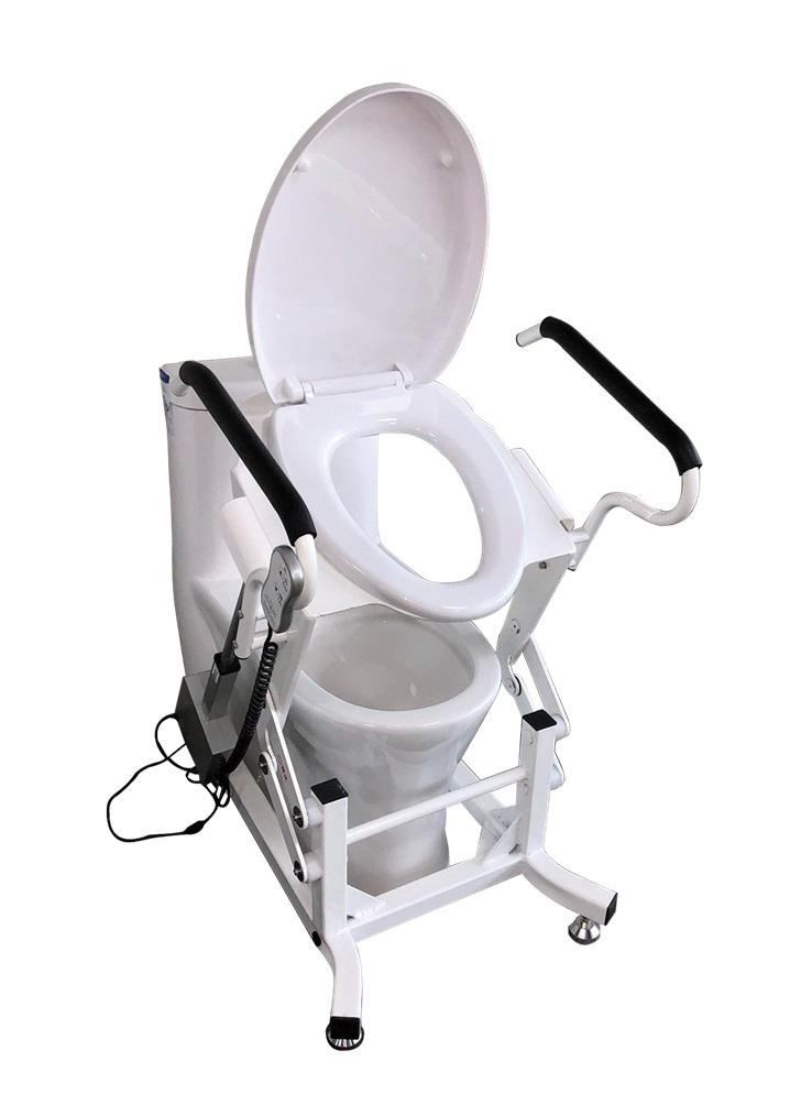 Кресло для туалета с подъемным устройством стационарное MIRID LWY001