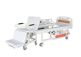 Медицинская функциональная электро кровать MIRID W01 (встроенное инвалидное кресло)