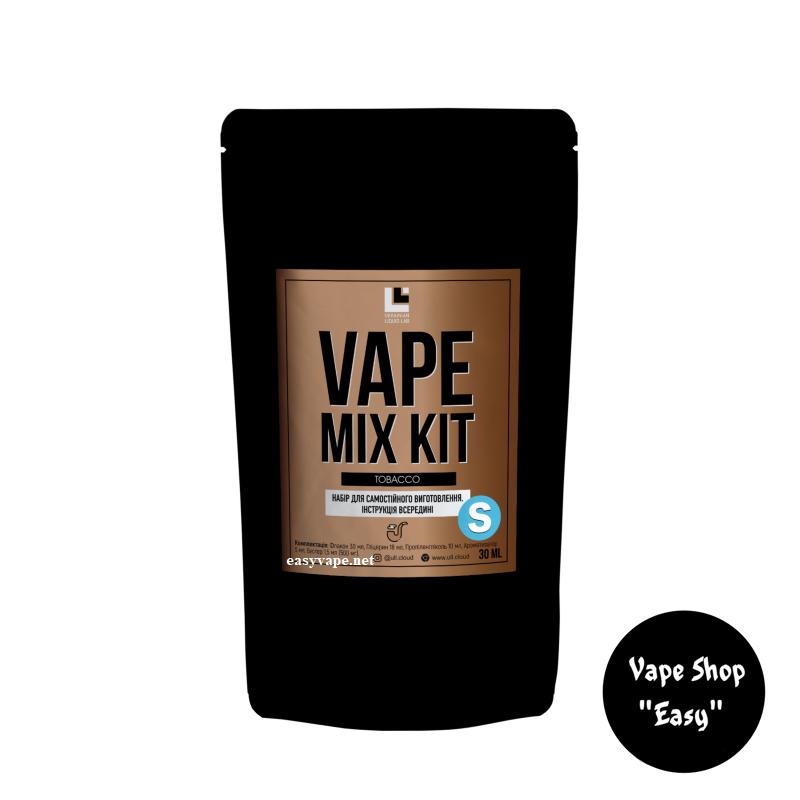 Набор для самозамеса Vape Mix Kit Tobacco 30 мл солевой.