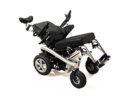 Багатофункціональний електричний візок для інвалідів W1036. Регульований нахил. Інвалідна коляска.