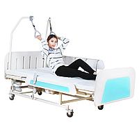 Медицинская функциональная электро кровать с туалетом MIRID E36 (широкое ложе)