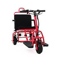 Легкий мобільний складаний електроскутер для літніх людей S-36300. Електричний візок.