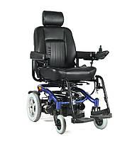 Електричний візок для інвалідів W-1024. Інвалідна коляска. Широке сидіння 50 см., фото 1