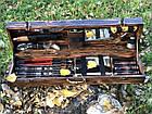"""Набор шампуров """"Кабан МАХ"""" Gorillas BBQ в деревянной коробк, фото 2"""
