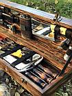 """Набор шампуров """"Кабан МАХ"""" Gorillas BBQ в деревянной коробк, фото 4"""
