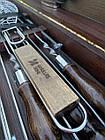 """Набор шампуров """"Медведь"""" Gorillas BBQ в деревянной коробке, фото 8"""
