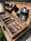 "Набор шампуров ""Витязь"" Gorillas BBQ в деревянной коробке, фото 5"