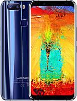 Смартфон синий с двойной камерой и сканером отпечатка пальца Leagoo s8 pro blue 6/64 Global (Гарантия 12 мес)