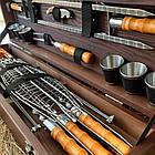 """Набор шампуров """"Косуля"""" Gorillas BBQ в деревянной коробке, фото 9"""