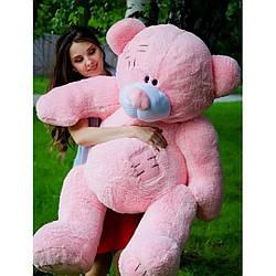 Плюшевые медведи: Плюшевый медвежонок Потап 2,5 метра (250 см), Розовый