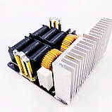 ZVS 20A, 1000Вт вихревой индукционный нагреватель. Питание 12-48В, фото 4