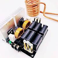 ZVS 20A, 1000Вт вихревой индукционный нагреватель. Питание 12-48В, фото 1