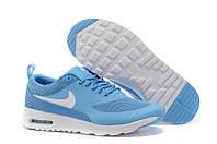 Кроссовки женские Nike Air Max Thea (найк аир макс, оригинал) голубые