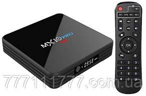 Смарт ТВ MX10 Pro TV Box Smart TV Rockchip 3328 4/32Gb 4K Android 7.1 (Гарантия 12 мес)