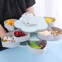 Органайзер для сладостей, орешков, фруктов Candy Box (2 яруса), подставка для продуктов