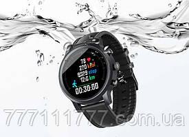 Смарт часы черные водонепроницаемые с пульсометром и шагомером Zeblaze NEO 3 black (Гарантия 12 мес)