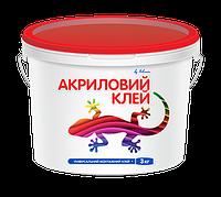 Клей ремонтно-монтажный универсальный Полимин Клей Акриловый, 3 кг