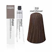 Мажірель Кул Інфорсед, крем-фарба для волосся, відтінок 7.13, 50 м