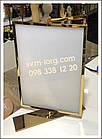 Информационная рамка настольная, фото 4