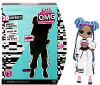 """Игровой набор с куклой L.O.L. Surprise! серии O.M.G"""" S3 - Леди-Релакс"""" MGA 570165, фото 1"""