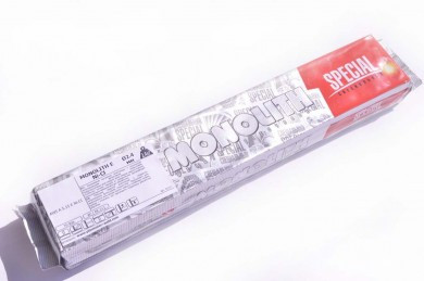Электроды сварочные Монолит E Ni-CI Ø2.4 мм: вакуумная уп 2.4 кг
