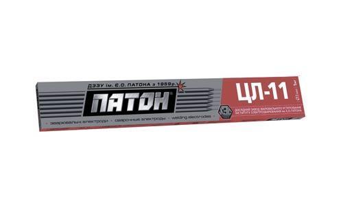 Электроды ПАТОН ЦЛ-11 4 мм 1кг