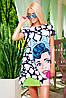 Платье с коротким рукавом Тая-1