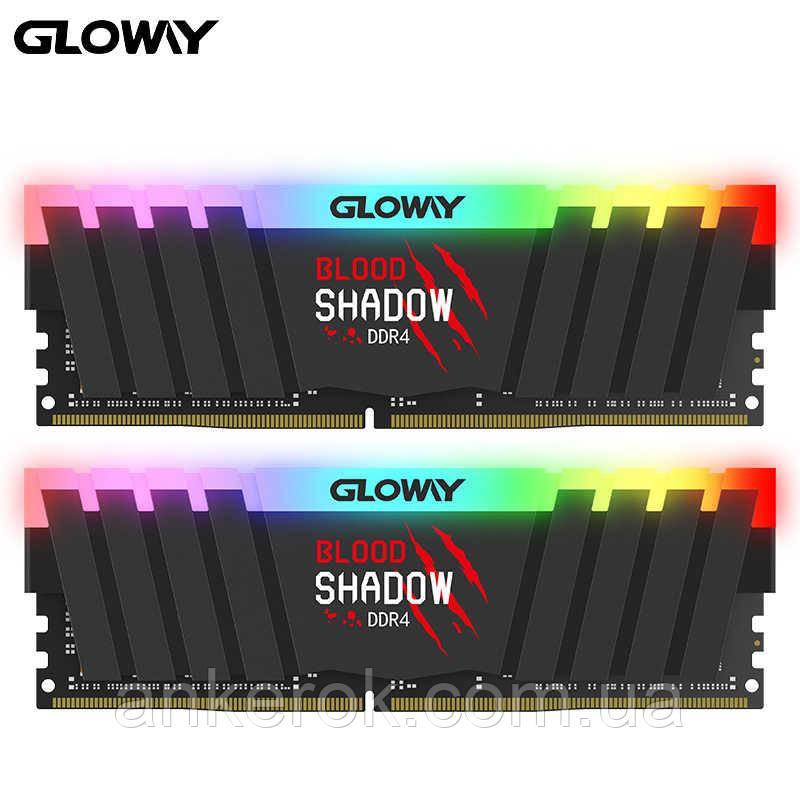 Оперативная память Gloway Blood Shadow 16GB (2x8GB) DDR4 3200MHz (RGB)