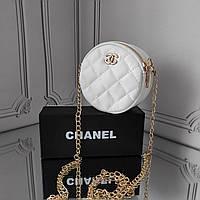 Мини кросс боди, белая сумка Chanel, фото 1