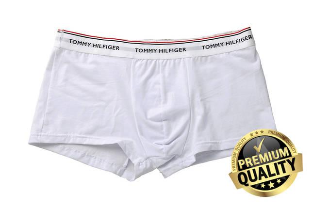Труси Tommy Hilflger Повномірна модель. Преміум якість білі розмір XXL, фото 2