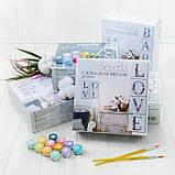 Набор для росписи по номерам LOVE скандинавский стиль ТМ Идейка СН102, фото 2