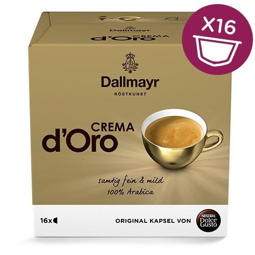АКЦ! ПРИМЯТ УГОЛОК! Dolce Gusto Dallmayr d'Oro  - Кофе в капсулах Дольче Густо Даллмайр Доро