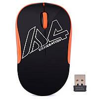 Мышь A4Tech G3-300N Wireless Black/Orange, фото 1