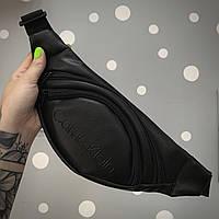 Бананка Мужская | Женская черная Calvin Klein, фото 1