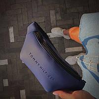 Бананка Мужская | Женская Tommy Hilfiger синяя blue, фото 1