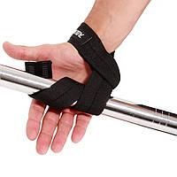 Лямки для страховки и усиления кистевого хвата для силовых упражнений на турнике, со штангой или гантелями