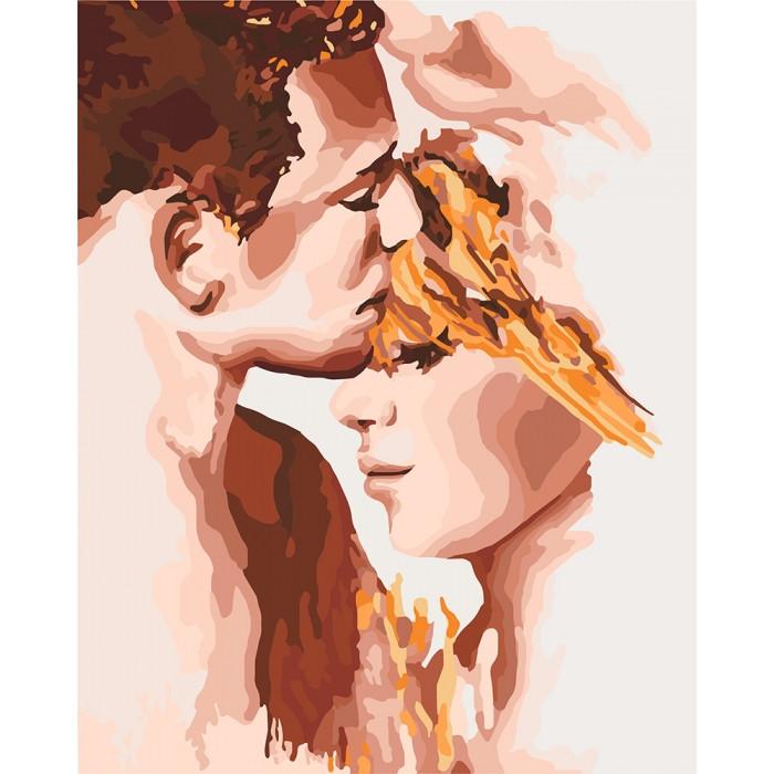Картины по номерам Идеальная пара 40 х 50 Идейка КНО4678