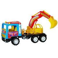 Машина Супер Трак Экскаватор игрушечный 14-002-1 Киндервей