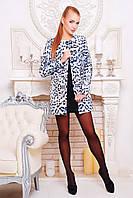 Женское пальто из кашемира с круглым вырезом, фото 1