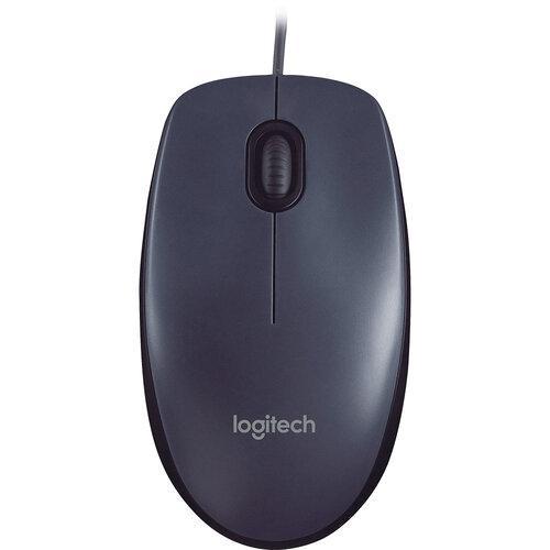 Мышь Logitech M90 USB Grey