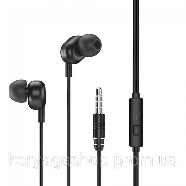 Наушники Remax RW-105 Wired Earphone Black