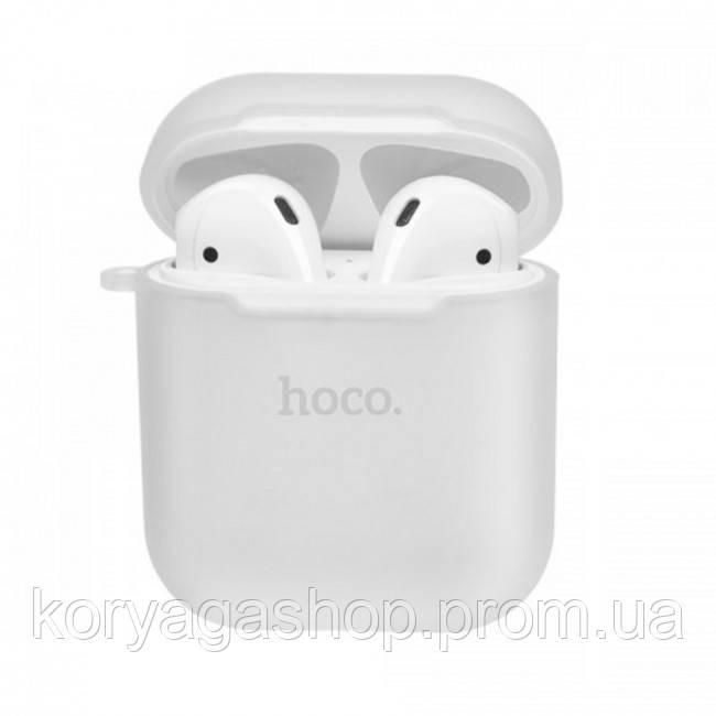 Чехол для Apple Airpods Hoco Silicone case Transparent