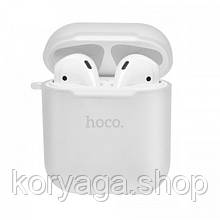 Чехол для Apple Airpods Hoco Silicone case Transparent