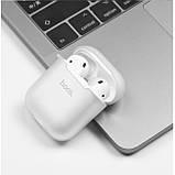 Чехол для Apple Airpods Hoco Silicone case Transparent, фото 3