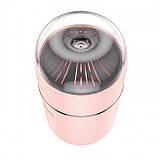 Увлажнитель воздуха Hoco Aroma pursue portable mini humidifier Pink, фото 3