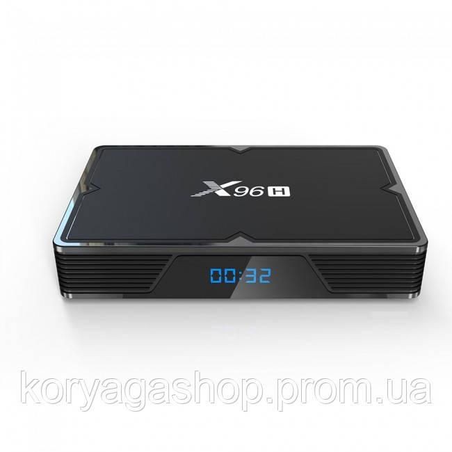 Приставка Smart TV Box X96H Allwinner H603 4Gb/64Gb Black