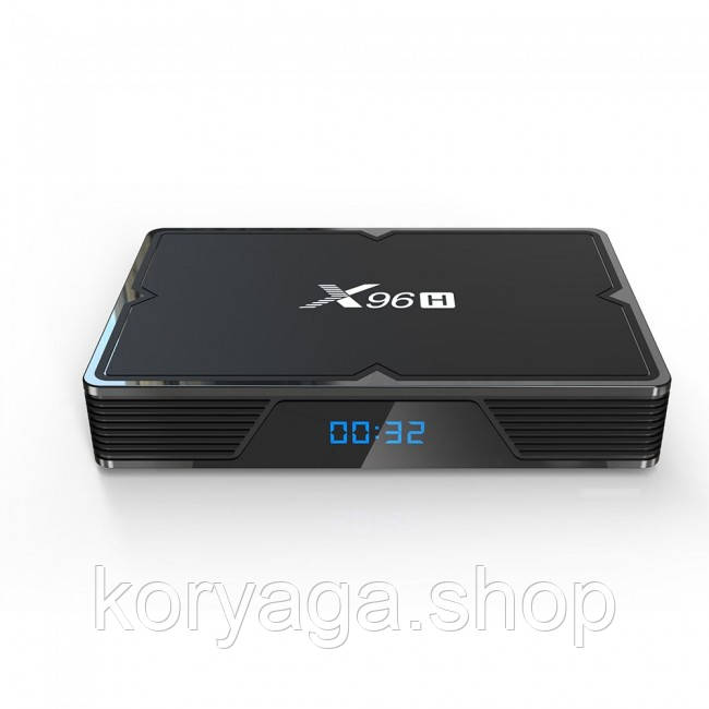 Приставка Smart TV Box X96H Allwinner H603 4Gb/32Gb Black