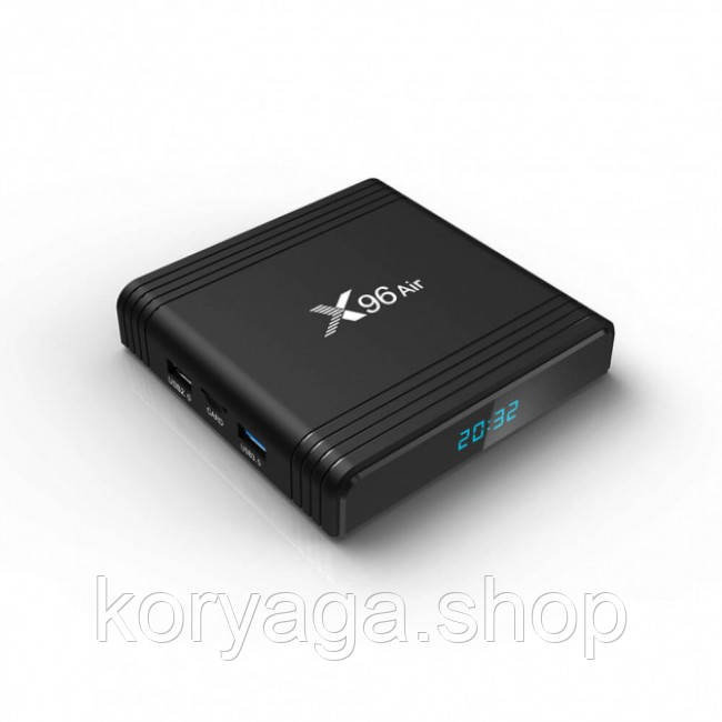 Приставка Smart TV Box X96 Air S905X3 4Gb/64Gb Black